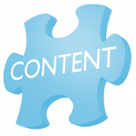 content puzzelstuk - afbeelding bij blog over de content marketing strategie mythe