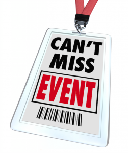badge met can't miss event erop - afbeelding bij blog over advies voor wannabe zzp'er