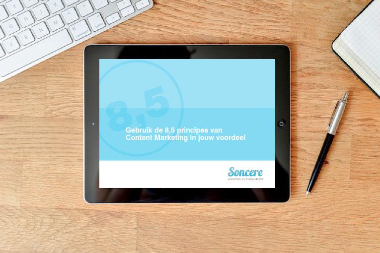 cover gratis e-boek - afbeelding bij Content Marketing ideeën pagina