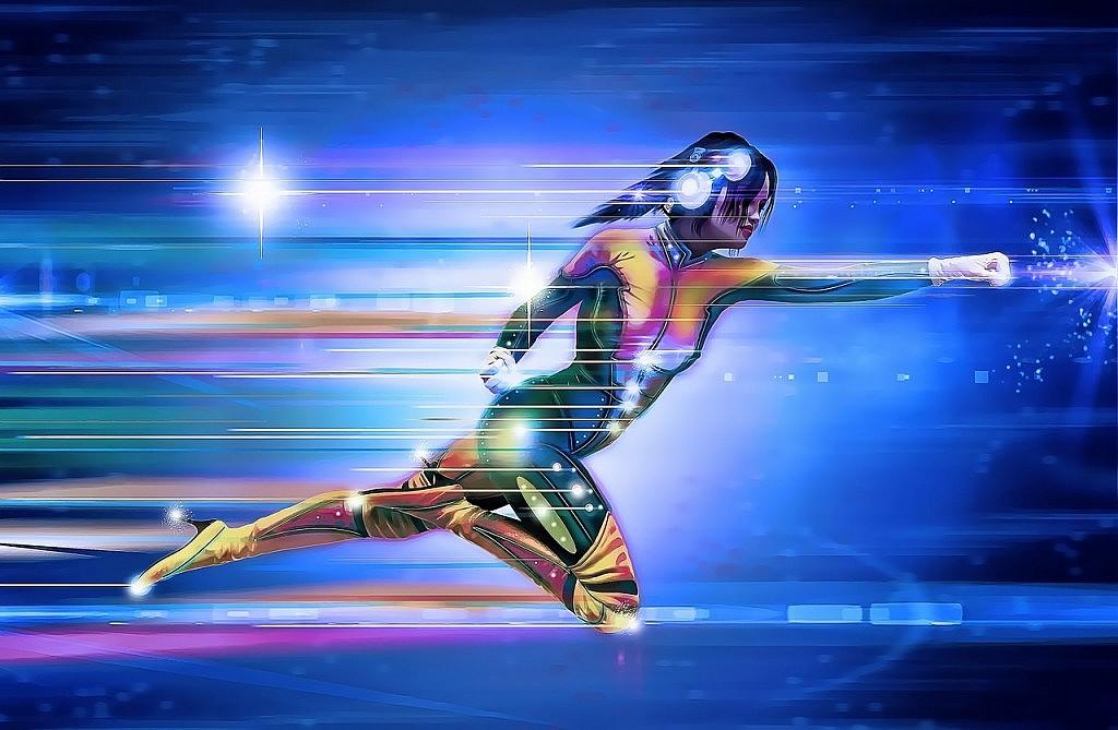 illustratie van superheldin - afbeelding bij Jouw allerbeste eigenschap en businessvoordeel blog