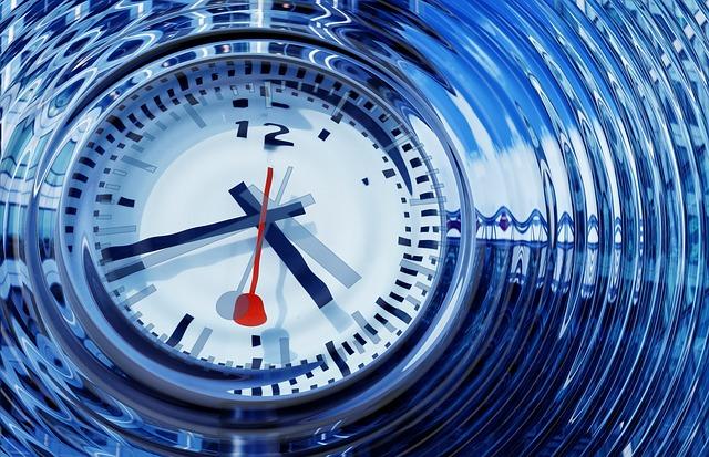 foto van een klok bij de blog De weg naar je doel kent vele omwegen