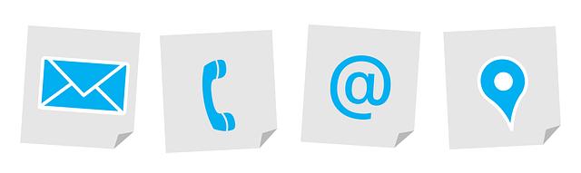 contact opnemen met online tekstschrijver