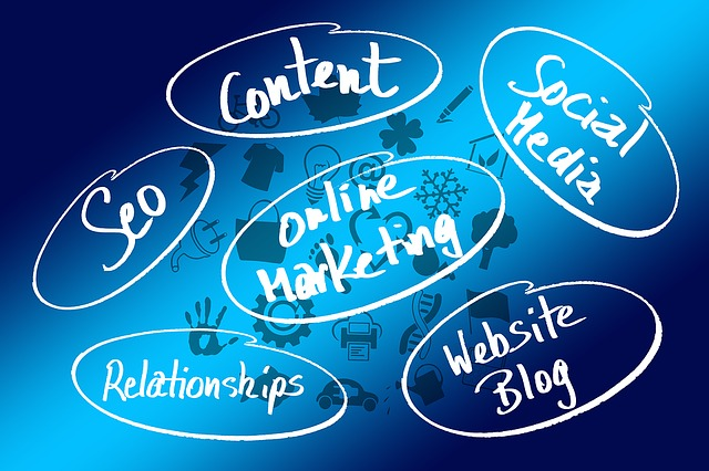 online marketing illustratie bij de blog Online succes is... hard werken?!