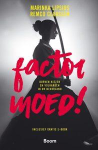 cover van het boek Factor moed!