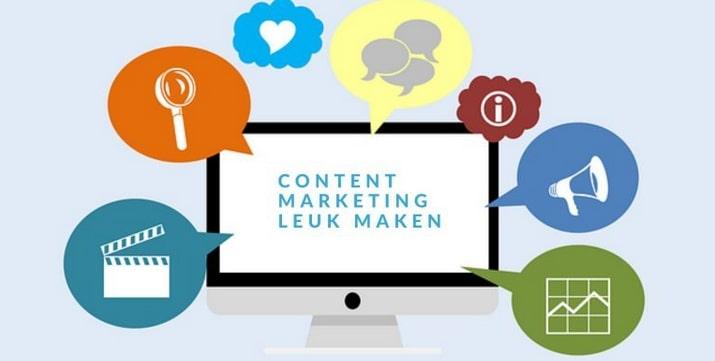 Content Marketing weer leuk maken
